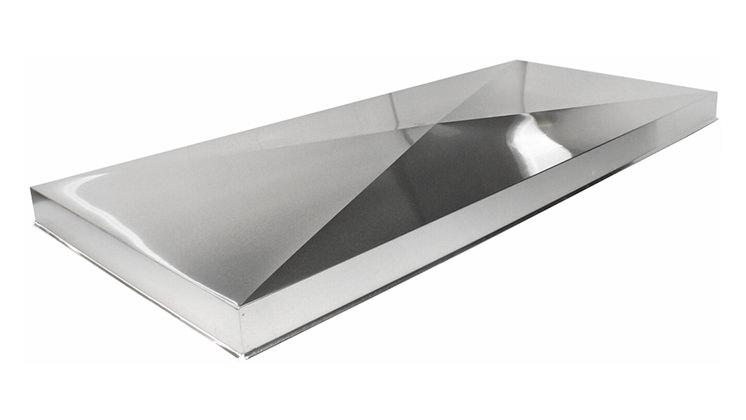 Chase Cover - Stainless Steel No Hole