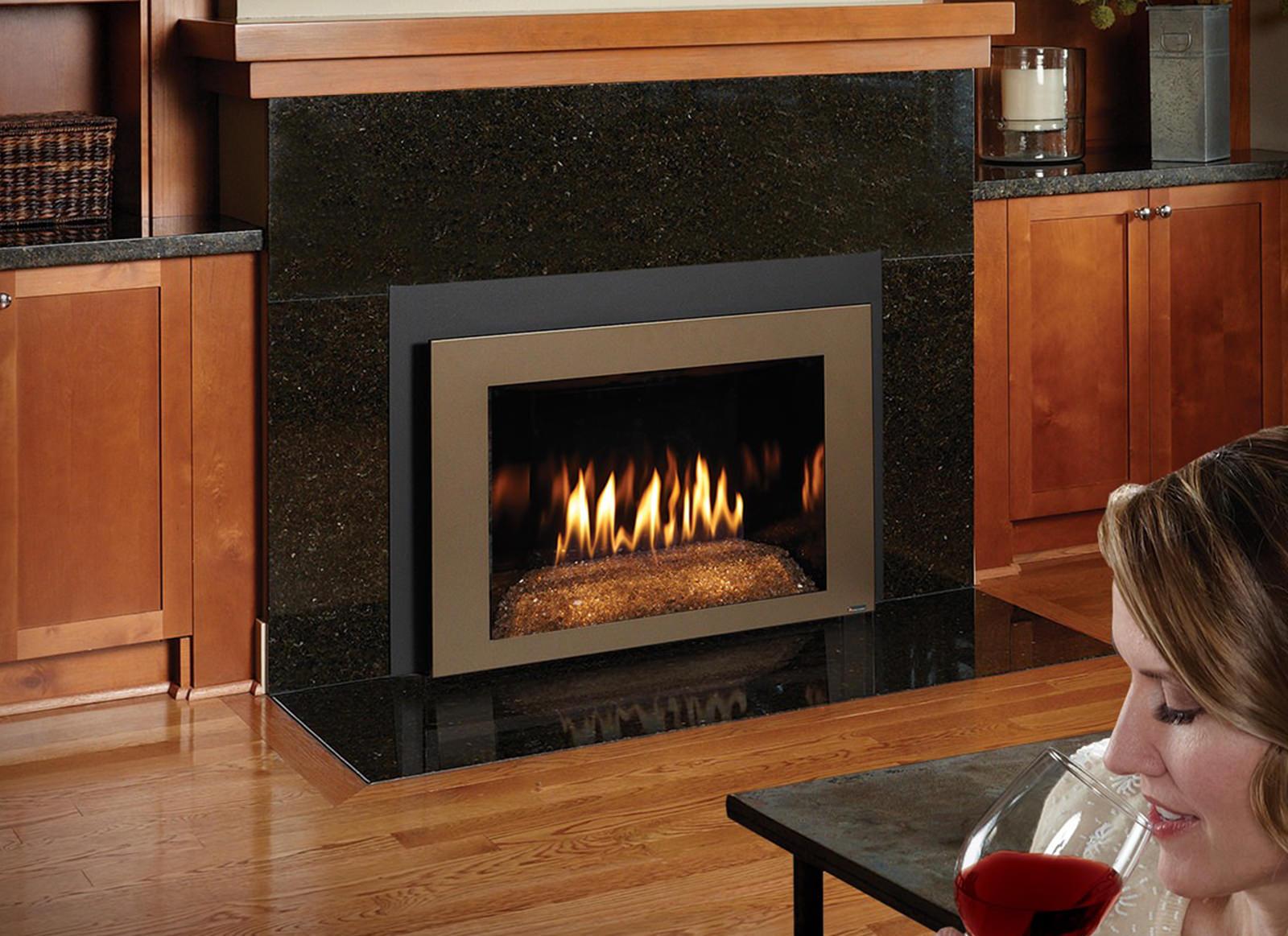Fireplacex 616df With Diamond Fyre Bronze Shadowbox