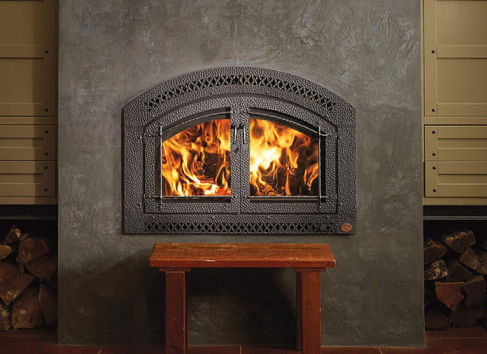 Fireplacex 44 Elite Artisan Double Door Hand Hammered Wrought Iron