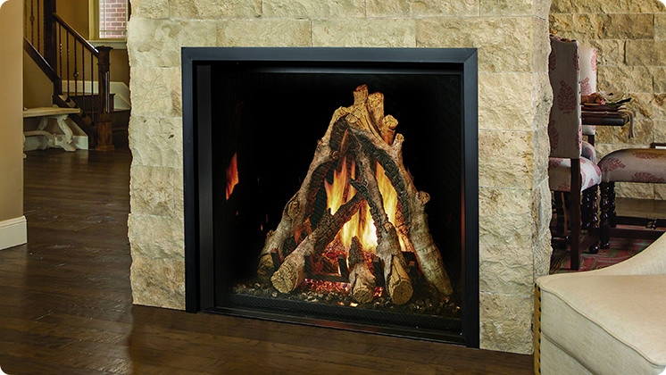 FireplaceX 4237 Clean Face - Flat tile trim