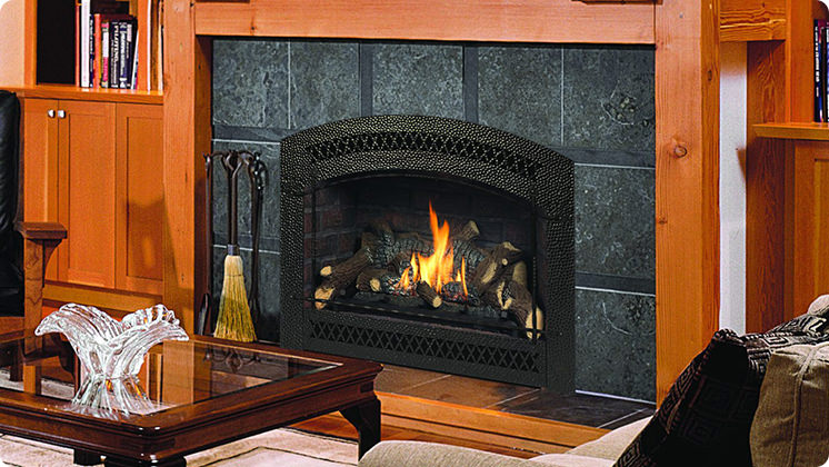 FireplaceX 564 High Output - Bronze Artisan™ face