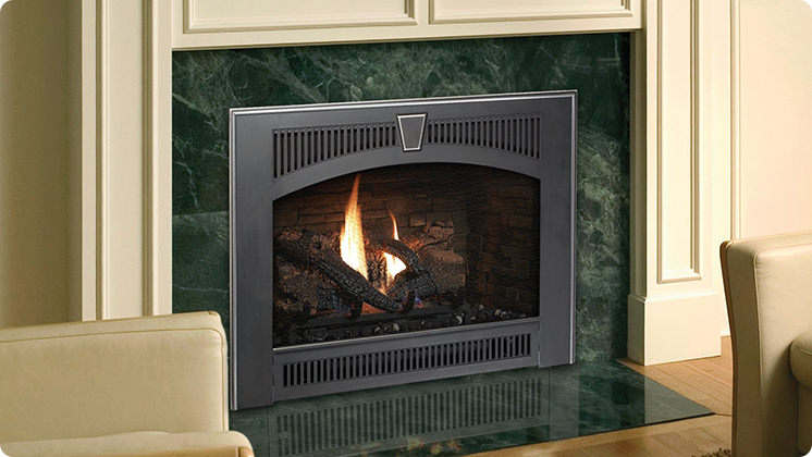 FireplaceX 564 Space Saver - Legacy black face