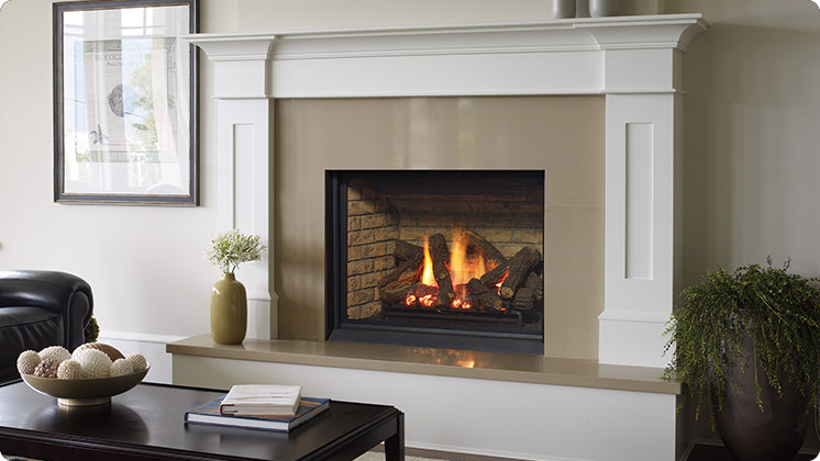 Regency Bellavista B36XTCE Medium Gas Fireplace - Brick Panels
