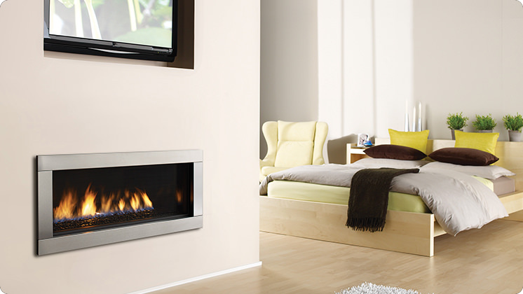 Regency Horizon HZ40E Medium Contemporary Fireplace - HZ40E Firebeads