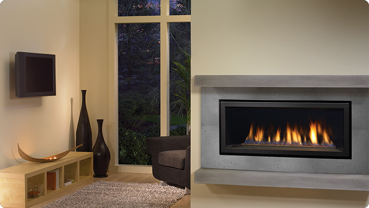 Regency Horizon HZ40E Medium Contemporary Fireplace - Copper Crystals