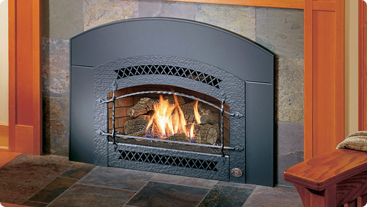 FireplaceX 32 DVS Mid-sized - Black painted Artisan™ face
