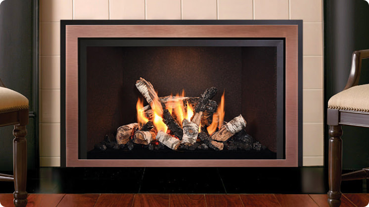 Mendota FV33i Décor - Antique copper wide grace front